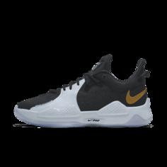 Баскетбольные кроссовки с индивидуальным дизайном PG 5 By You - Черный Nike