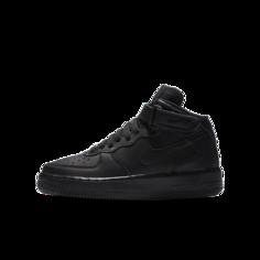 Кроссовки для школьников Nike Air Force 1 Mid - Черный