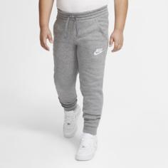 Джоггеры для мальчиков школьного возраста Nike Sportswear Club Fleece (расширенный размерный ряд) - Серый