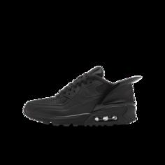Кроссовки для школьников Nike Air Max 90 FlyEase - Черный