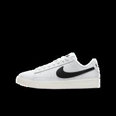 Кроссовки для школьников Nike Blazer Low - Белый