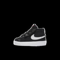 Кроссовки для малышей Nike Blazer Mid 77 - Черный