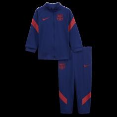 Трикотажный футбольный костюм для малышей с символикой FC Barcelona Strike - Синий Nike