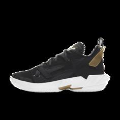 """Баскетбольные кроссовки Jordan """"Why Not?""""Zer0.4 """"Family"""" - Черный Nike"""