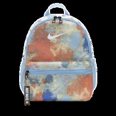 Детский рюкзак с принтом тай-дай Nike Brasilia JDI (мини) - Синий