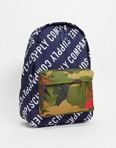Рюкзак спринтом в виде логотипа Herschel Supply Co Classic-Черный цвет