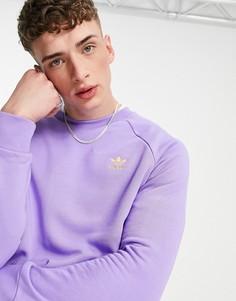 Светло-фиолетовый свитшот adidas Originals Essentials-Фиолетовый цвет