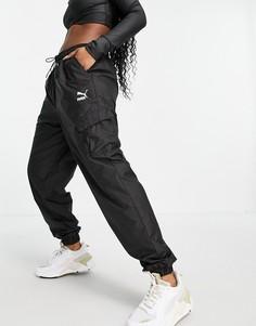 Черные джоггеры в утилитарном стиле Puma Classics-Черный цвет