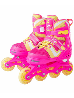 Коньки Ridex Wing р.L 38-41 Pink УТ-00018622