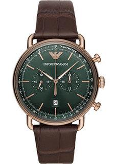 fashion наручные мужские часы Emporio armani AR11334. Коллекция Aviator