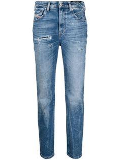 Diesel прямые джинсы D-Joy с завышенной талией