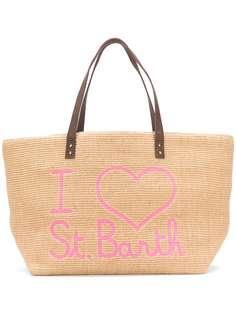 Mc2 Saint Barth сумка-тоут Helene с логотипом