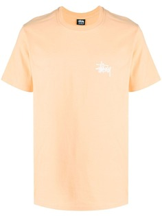 Stussy футболка с круглым вырезом и логотипом
