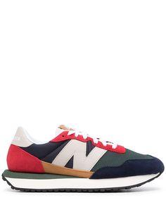 New Balance кроссовки 237 на шнуровке