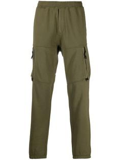 Stone Island спортивные брюки с карманами на молнии
