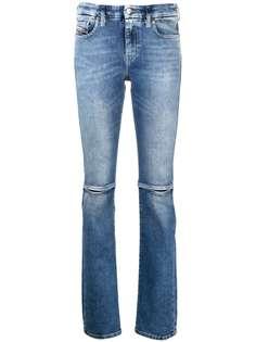 Diesel джинсы D-Slandy с эффектом потертости