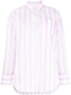 MSGM рубашка в полоску