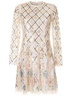 Needle & Thread платье из тюля с пайетками