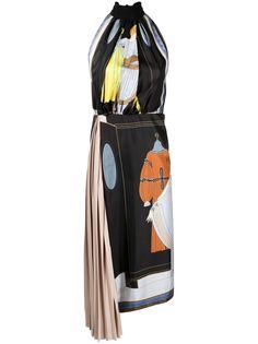 LANVIN платье с принтом The Choice
