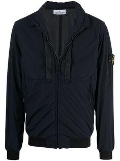 Stone Island легкая куртка с нашивкой-логотипом
