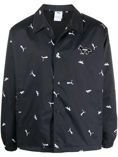 Puma куртка с узором