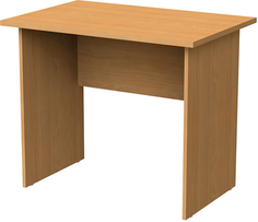 Письменный стол МОНОЛИТ 90х60х75 см, бук (640074)