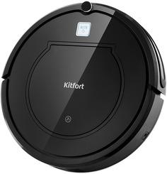 Робот-пылесос Kitfort KT-568 (черный)