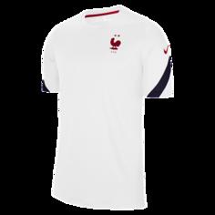 Мужская игровая футболка с коротким рукавом FFF Strike - Белый Nike