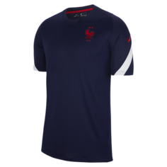 Мужская игровая футболка с коротким рукавом FFF Strike - Синий Nike