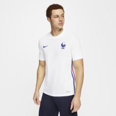 Мужское футбольное джерси из выездной формы сборной Франции 2020 Vapor Match - Белый Nike