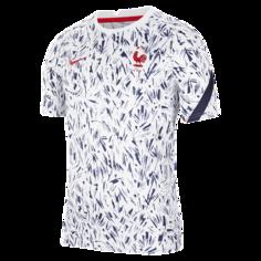 Мужская игровая футболка с коротким рукавом FFF - Белый Nike