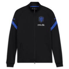 Мужской футбольный костюм с символикой Нидерландов Strike - Черный Nike