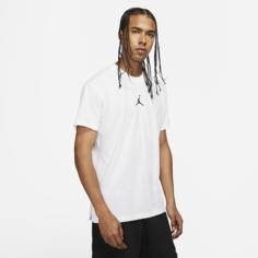 Мужская футболка с коротким рукавом и графикой Jordan Dri-FIT Air - Белый Nike
