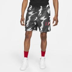 Мужские шорты из сетчатой ткани с принтом Jordan Jumpman Air - Черный Nike