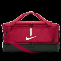 Футбольная сумка-дафл с жестким дном Nike Academy Team (средний размер) - Красный