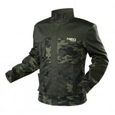 Куртка рабочая Neo, камуфляж, размер S