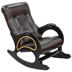 Кресло-качалка Комфорт-мебель Лилиан венге верона 120