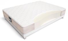 Матрас ecoline maxi 140*195 (materlux) белый 140x20x195 см.