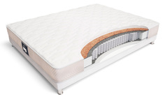 Матрас toskana maxi 90*200 (materlux) белый 90x18x200 см.