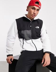 Белая флисовая куртка The North Face Black Box Denali-Белый