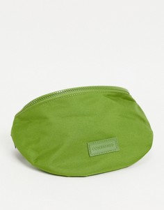 Сумка-кошелек цвета хаки на пояс с молнией Consigned-Зеленый