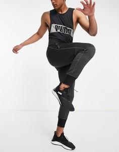 Темно-серые трикотажные джоггеры Puma Training-Серый