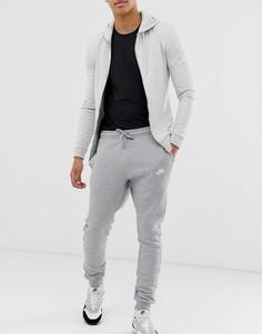 Серые джоггеры Nike Club-Серый