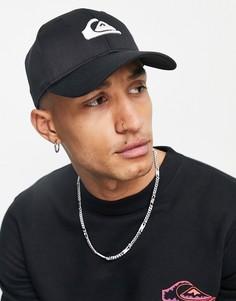 Черная кепка Quiksilver Decades-Черный цвет