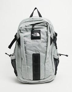 Серый рюкзак The North Face Hot Shot-Черный