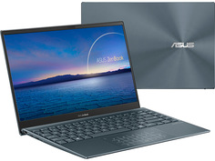 Ноутбук ASUS UX325EA-AH045 90NB0SL1-M01510 (Intel Core i7-1165G7 2.8GHz/16384Mb/512Gb SSD/No ODD/Intel Iris Xe Graphics/Wi-Fi/Bluetooth/Cam/13.3/1920x1080/DOS)