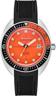 Японские наручные мужские часы Bulova 96B350. Коллекция Oceanographer