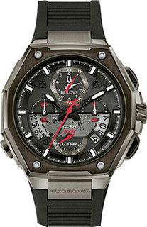 Японские наручные мужские часы Bulova 98B358. Коллекция Precisionist