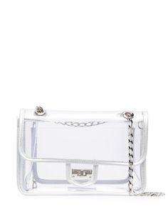 Junya Watanabe прозрачная сумка с поворотной застежкой