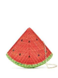 SERPUI соломенный клатч Watermelon